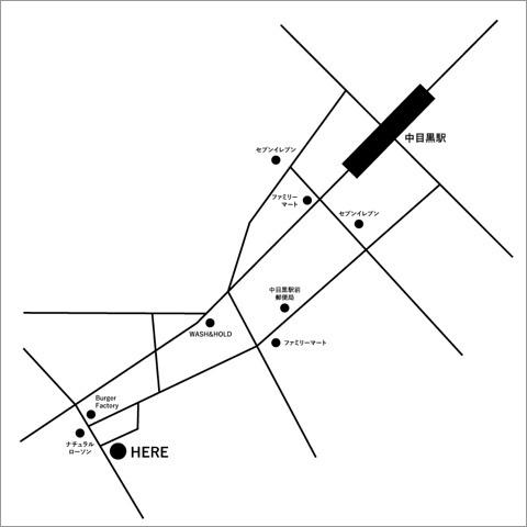 サロンドミューズ地図